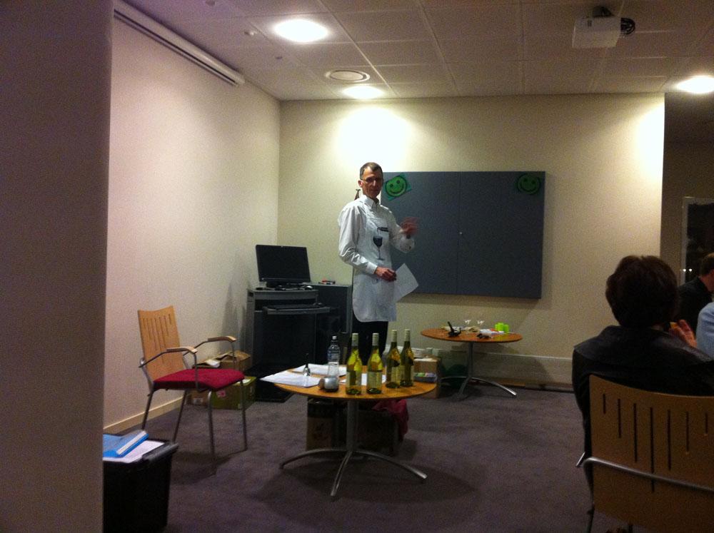 Arne fortæller om Sydafrikanske vine