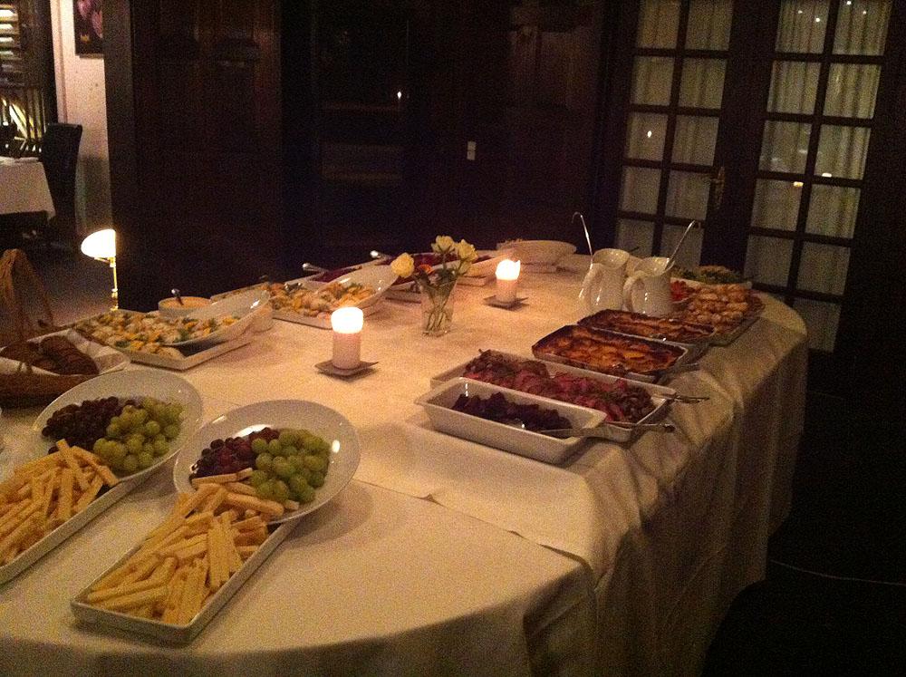 Slotskroens fine buffet