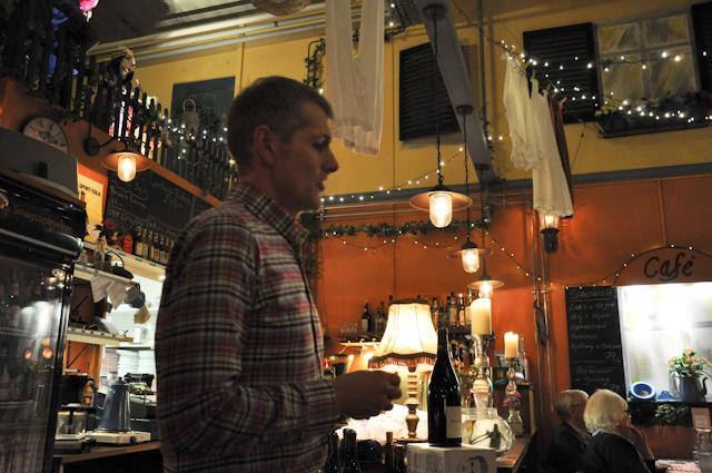 Vinova på Cafe Jens Otto 17