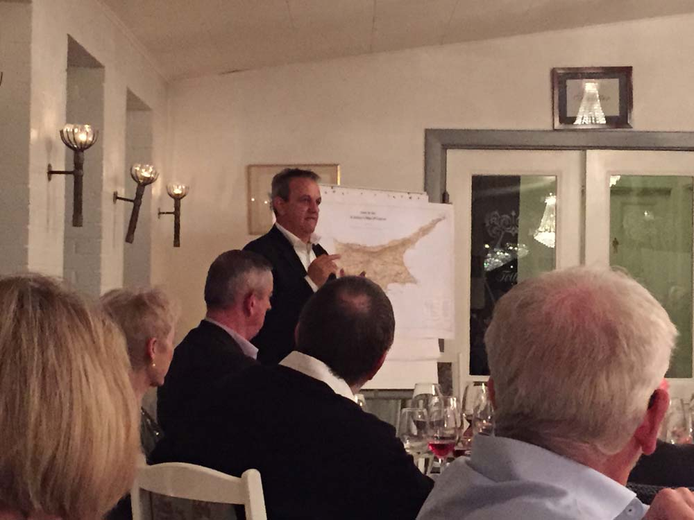 George Philis fortæller om Cypern og vinene