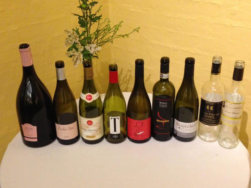 Alle vinene denne aften