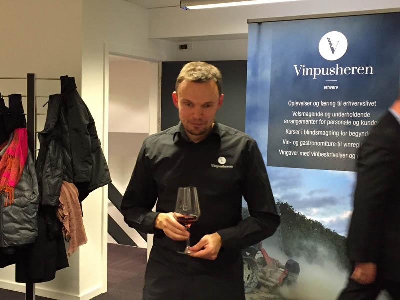 Vinpusheren Michael Poulsen