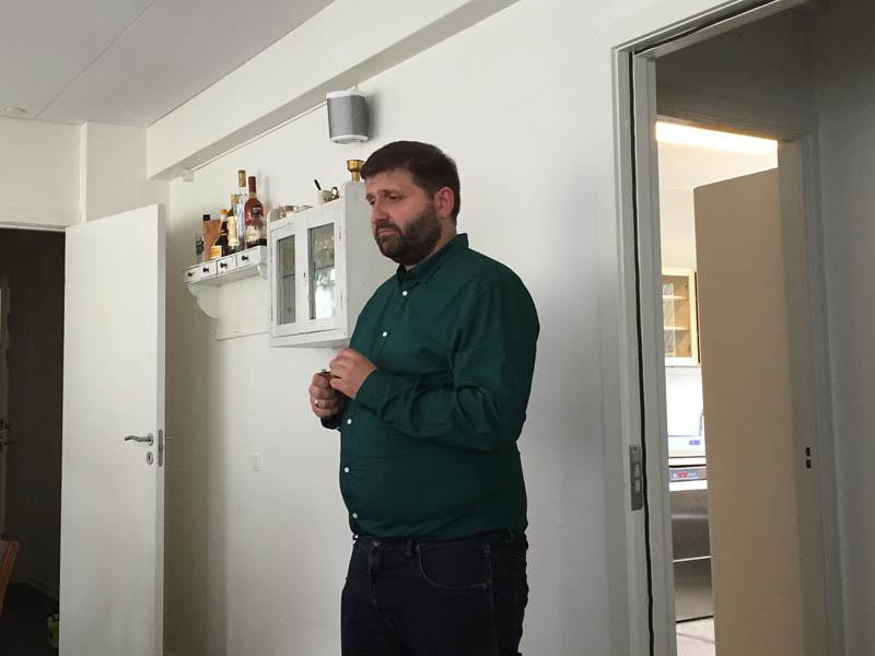Jonas fortalte om vinene fra Portugal