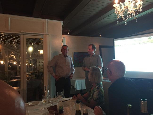 Formanden og Ole Porsvig