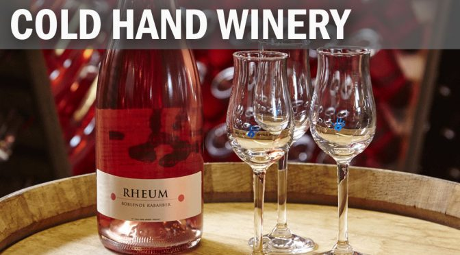Besøg på Cold Hand Winery … lokal, international succes (1)
