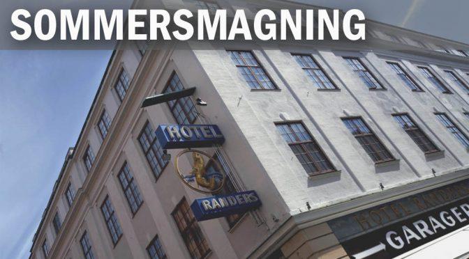 Sommervinsmagning og generalforsamling på  byens nyrenoverede historiske hotel (1)