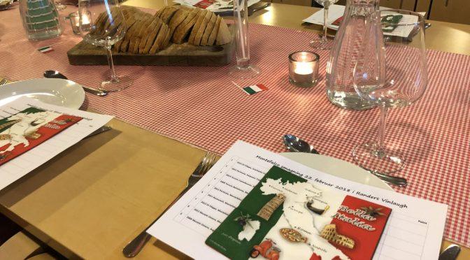 Houlbergs umbriske fortællinger, vine & simremad