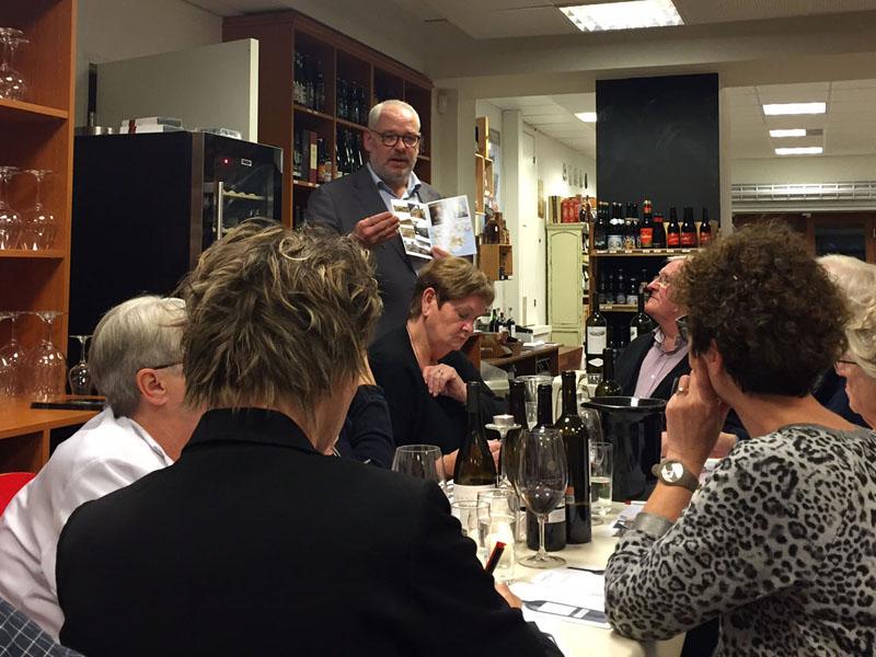 Thomas Elle fortæller om Palacios vine