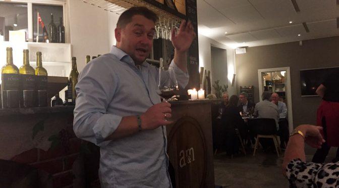 Det spanske højhastighedstog på D'Wine Bar i Aalborg