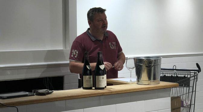 Pinot Noir med Bækkelund Vine hos Restaurant NOK